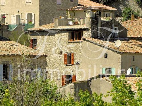 Vente maison de village avec terrasse proche manosque for Immobilier avec terrasse