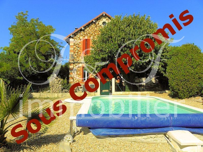 Town house with garden and pool in the Luberon