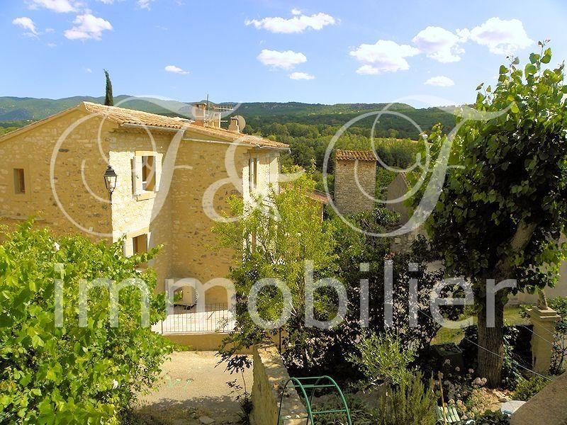 Hamlet house with small garden in the Luberon - Luberon Provence