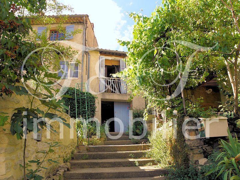 Vente maison de hameau avec petit jardin en luberon for Immobilier avec jardin
