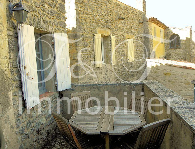 Vente Petite Maison De Village Avec Terrasse En Luberon