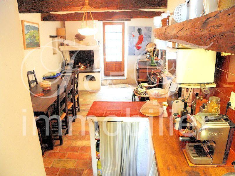 Vente petite maison de village avec terrasse en luberon immobilier luberon provence - Voir sa maison de face ...