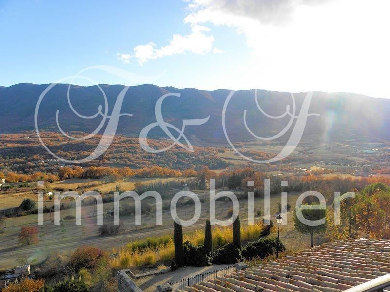 Vente maison de village avec terrasse et vue luberon for Terrasses en vue immobilier