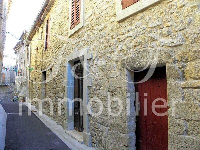 Village house with view over the Luberon - Luberon Provence